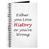 History teachers Journals & Spiral Notebooks