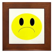 frown Framed Tile