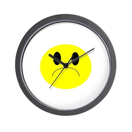 frown Wall Clock