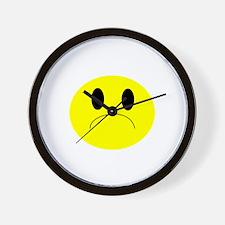 frown Wall Clock