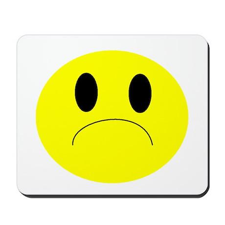 frown Mousepad