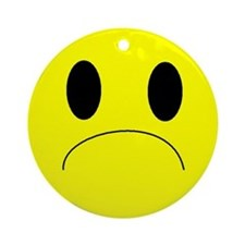 frown Ornament (Round)