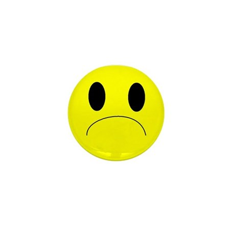 frown Mini Button (10 pack)