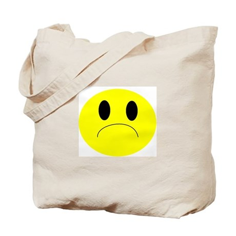 frown Tote Bag