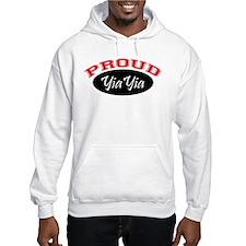 Proud YiaYia (black & red) Hoodie