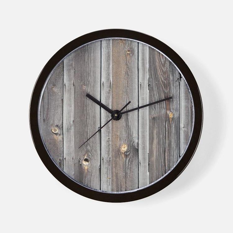 Cute Weathered Wall Clock