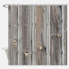 Unique Gray and green Shower Curtain