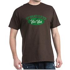 Proud YiaYia (green) T-Shirt