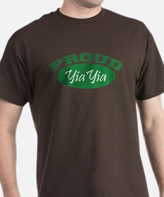 Proud YiaYia (green) T-Shirt