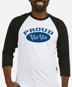 Proud YiaYia (blue) Baseball Jersey