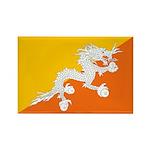 Bhutan Rectangle Magnet (10 pack)