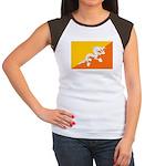 Bhutan Women's Cap Sleeve T-Shirt