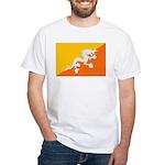 Bhutan White T-Shirt