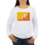 Bhutan Women's Long Sleeve T-Shirt