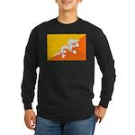 Bhutan Long Sleeve Dark T-Shirt