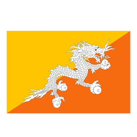 Bhutan Postcards (Package of 8)