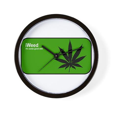 iWeed Wall Clock