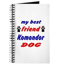 My Best Friend Komondor Dog Journal