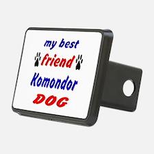 My Best Friend Komondor Do Hitch Cover