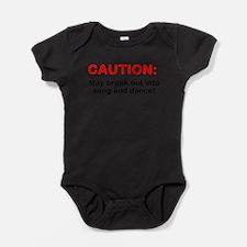 Funny Break dancing Baby Bodysuit