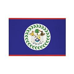 Belize Rectangle Magnet (10 pack)