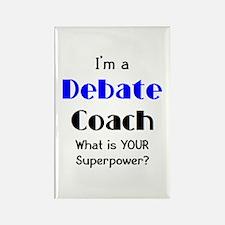 debate coach Rectangle Magnet