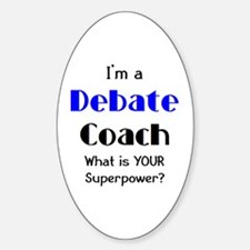 debate coach Decal