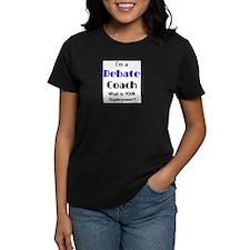 debate coach Tee