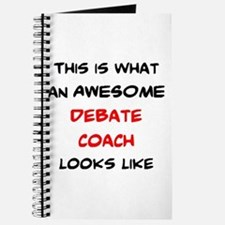 awesome debate coach Journal