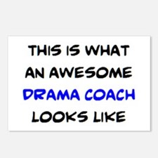 awesome drama coach Postcards (Package of 8)
