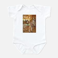 carousel giraffe Infant Bodysuit