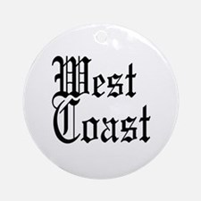 West Coast Ornament (Round)