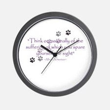 Think Occasionally Wall Clock