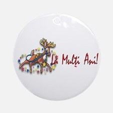 Holiday Ornament (Round)