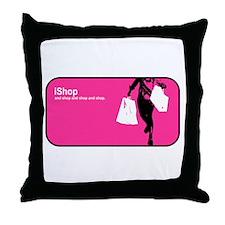 iShop Throw Pillow