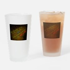 The meaning of life Drinking Glass