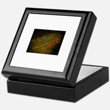 The meaning of life Keepsake Box