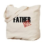 Off Duty Father Tote Bag