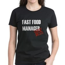 Off Duty Fast Food Manager Tee