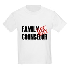 Off Duty Family Counselor T-Shirt