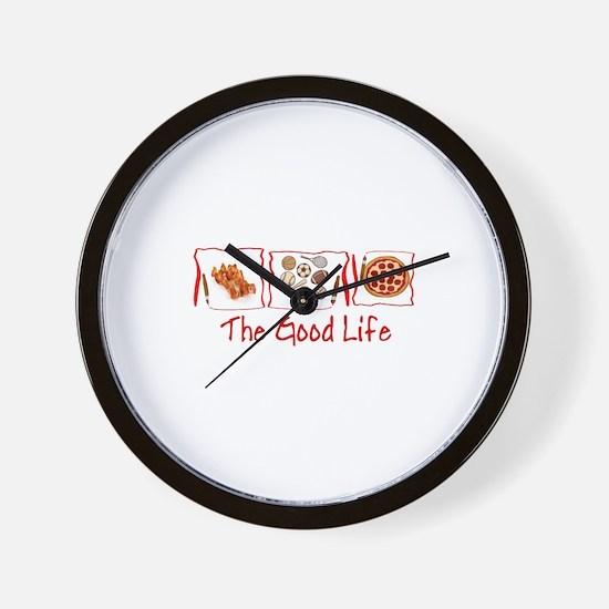Cute Bacon Wall Clock