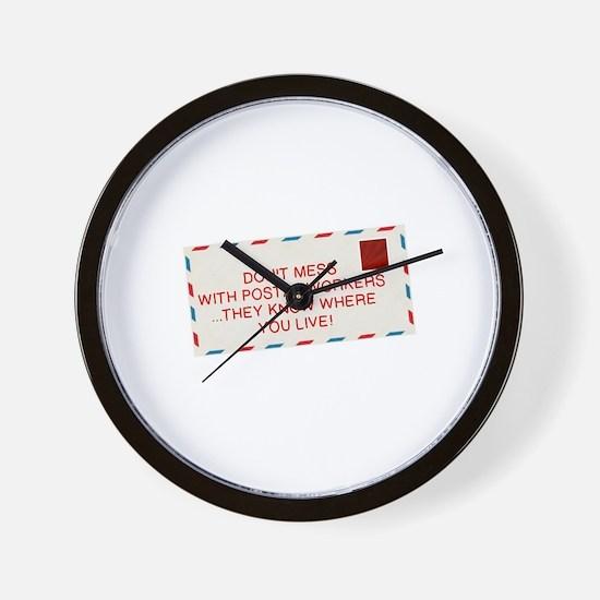Unique Postal Wall Clock