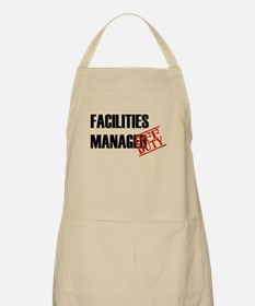Off Duty Facilities Manager BBQ Apron