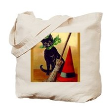 Halloween 2Black Cats onBothSides! Goodie Tote Bag