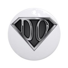 SuperDO(metal) Ornament (Round)