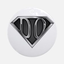 SuperDO(metal) Ornament (Round)
