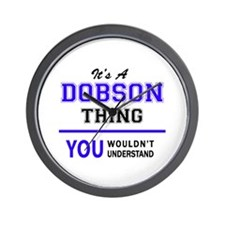 It's DOBSON thing, you wouldn't underst Wall Clock
