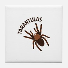 Tarantulas Tile Coaster