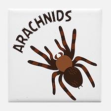 Arachnids Tile Coaster