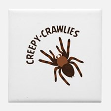 Creepy Crawlies Tile Coaster